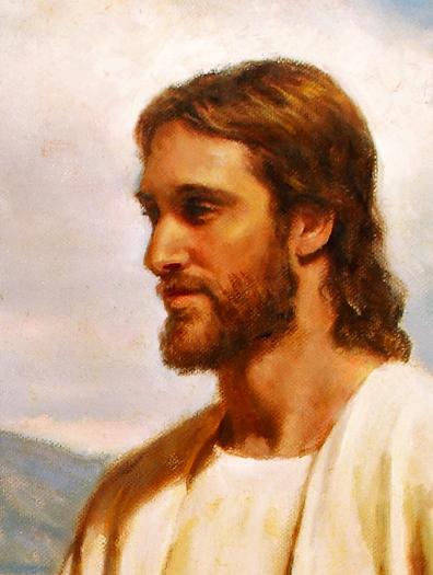 Jesus (detail) by Del Parson