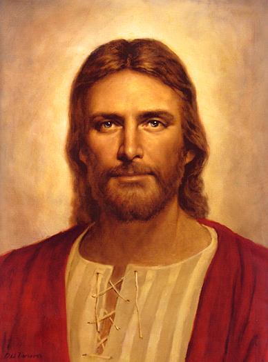 Gentle Christ by Del Parson