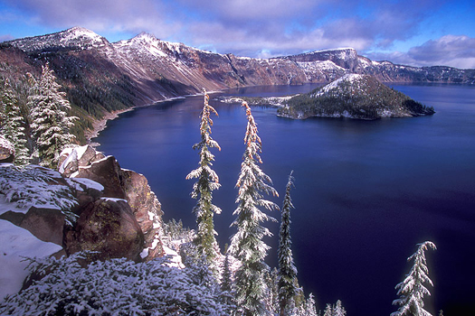 Crater Lake National Park, Oregon by Don Paulson