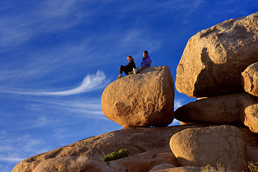 Boulder formations by Don Paulson