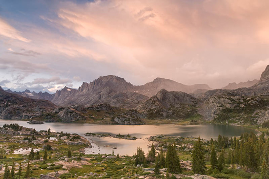 Island Lake. Bridger National Forest. Wyoming by Don Paulson