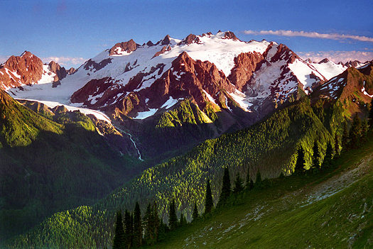 Mt Olympus by Don Paulson