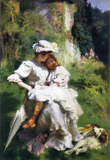 Tendresse Maternelle by Emile Friant