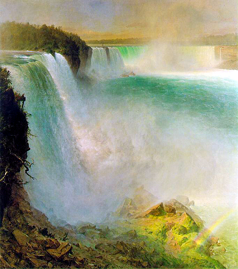 Niagara Falls by Frederic Church