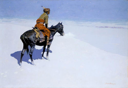 The Scout by Frederic Remington