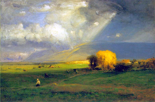 Passing Clouds by George Inness