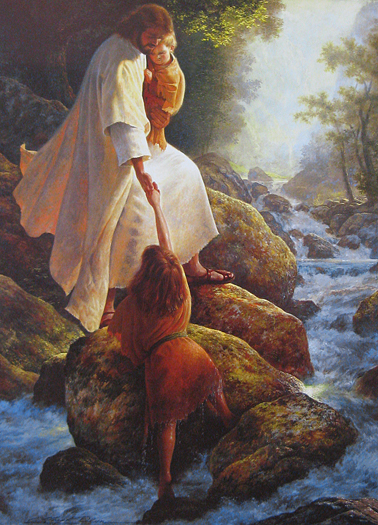 Be Not Afraid by Greg Olsen