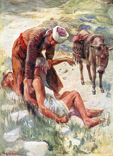 The Good Samaritan by Harold Copping
