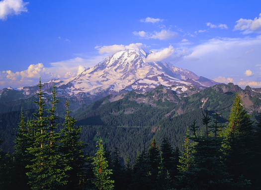 Mt Rainier, Washington State