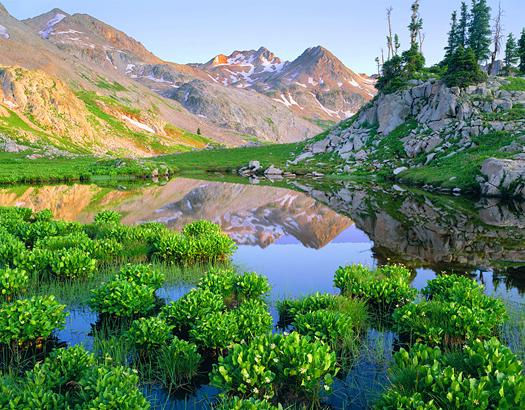 Avalanche Creek Pond - Maroon Bells-Snowmass Wilderness near Aspen by John Fielder