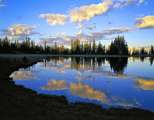 Reflection - Mount Zirkel Wilderness near Steamboat Springs by John Fielder