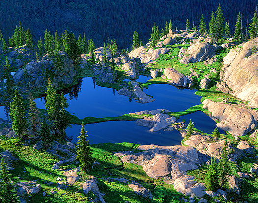 Ponds - Rocky Mountain National Park by John Fielder