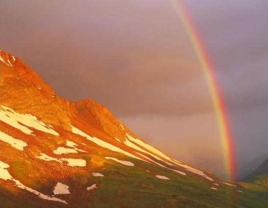 Weminuche Wild. Rainbow - Weminuche Wilderness, San Juan Mountains by John Fielder