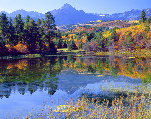Mt. Sneffels Autumn - near Telluride by John Fielder