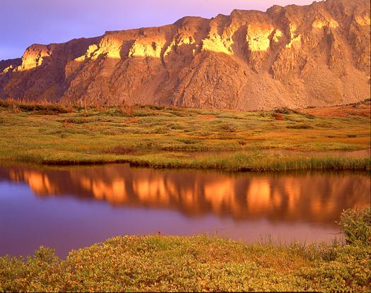 Indian Peaks Sunset - Indian Peaks Wilderness near Boulder