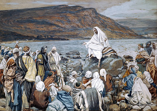 Jesus Teaches By The Seaside by William Hole