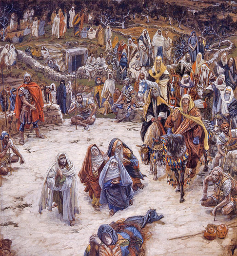 What Jesus saw from the Cross by James Tissot