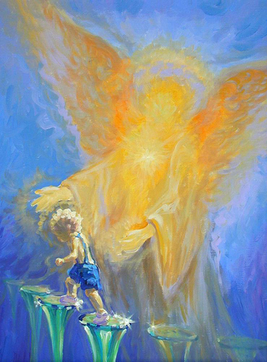 Guardian Angel by Jim Mayne Freeheart