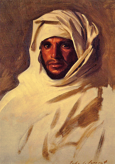 A Bedouin Arab by John Singer Sargent