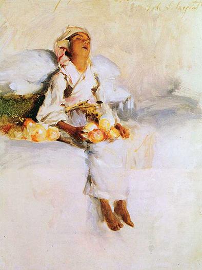 The Little Fruit Seller by John Singer Sargent
