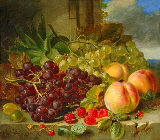 Still Life with Fruit by John Wainwright
