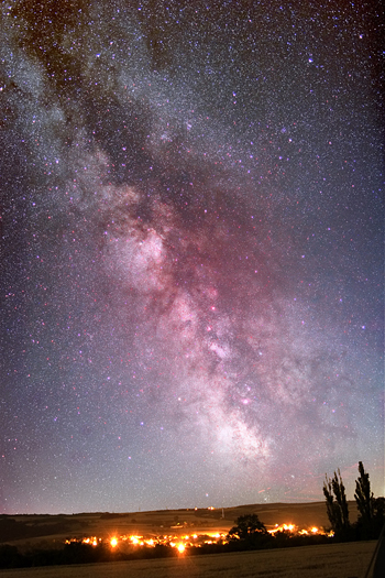 Milky Way by Jens Hackmann