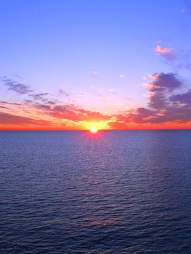 Ocean Sunset by Mo Siegel
