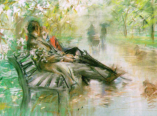 Early Spring in Central Park by Paul Cornoyer