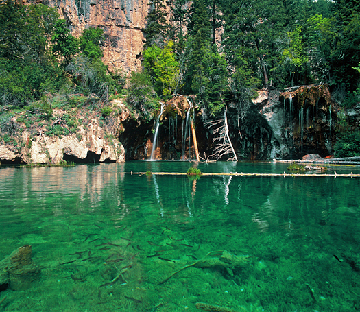 Hanging Lake and Trout by Robert Castellino