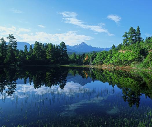 Mt Sneffels Reflection by Robert Castellino