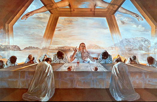 The Sacrament of the Last Supper by Salvador Dali