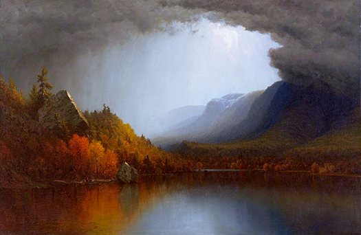 A Coming Storm by Sanford Robinson Gifford