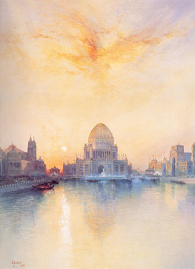 Chicago World's Fair 1894 by Thomas Moran