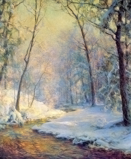The Early Snow by Walter Launt Palmer