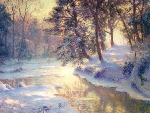 The Shining Stream by Walter Launt Palmer