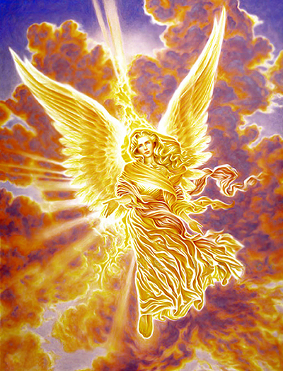 The Angel of Virtue by William Alan Shirley