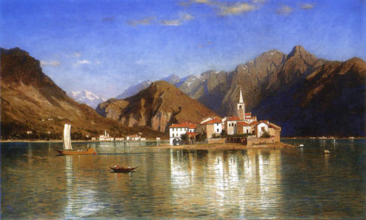 Lago Maggiore by William Stanley Haseltine