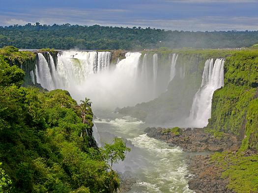 Spring at Iguazu Falls