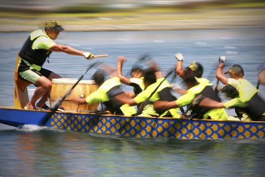 Dragon Boat - Teamwork