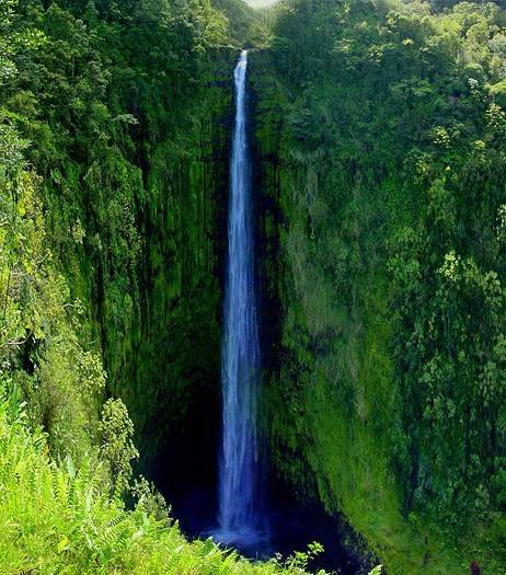 Waterfall, Big Island, Hawaii
