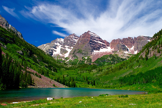 Maroon Bells: White River National Forest: Aspen