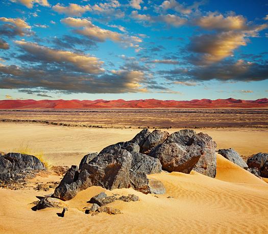 Namib Desert, dunes of Sossusvlei