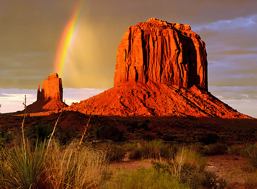 Merrick Butte - Monument Valley Navajo Tribal Park, Arizona