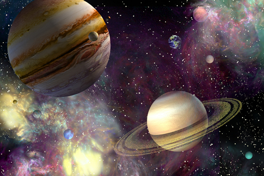 Our Solar System by Jurgen Ziewe
