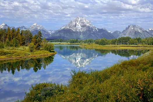 Oxbow Lake in Tetons