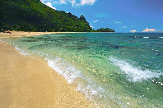 A nice tropical beach