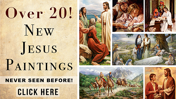 20 New Jesus Paintings