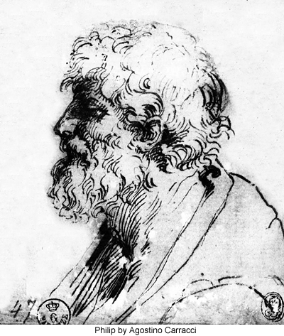 Philip by Agostino Carracci