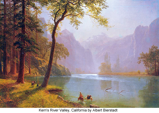 Kern's River Valley, California by Albert Bierstadt