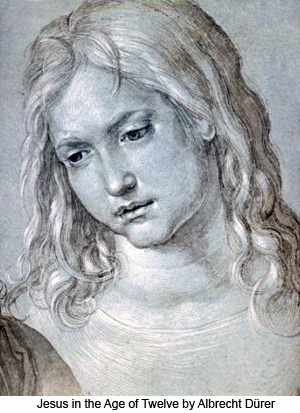 Jesus in the Age of Twelve by Albrecht Durer